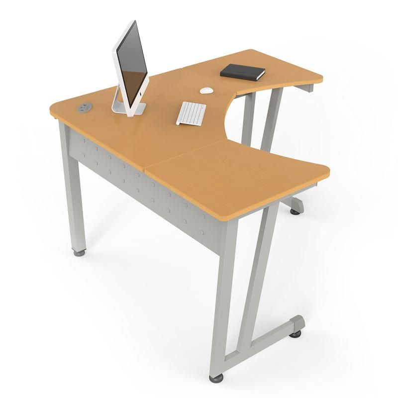 Escritorio delta linea italia proyesa tampico muebles for Bases para muebles de oficina