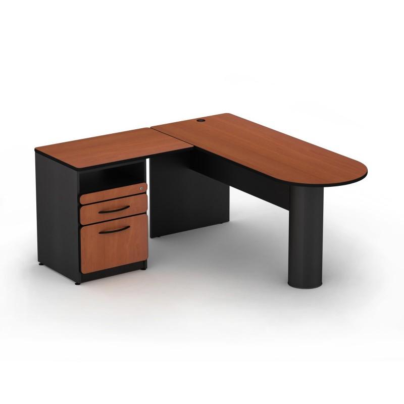 Escritorio peninsular trot proyesa tampico muebles para for Escritorios de oficina lima