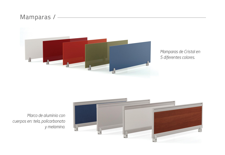 Mini mampara vivant proyesa tampico muebles para for Muebles para oficina mamparas