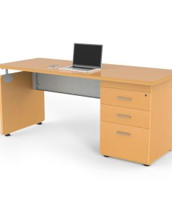 Escritorio mod stila maple proyesa tampico muebles para for Escritorios de oficina