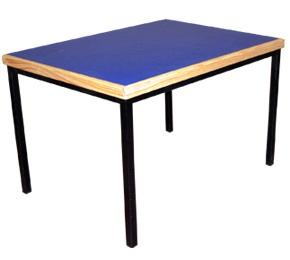 mesa preescolar triplay de pino con formaica