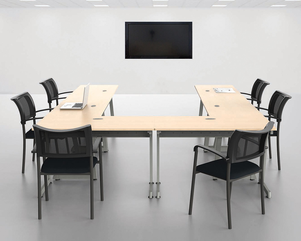 muebles para oficina tampico Mesas de trabajo mod 103s en herradura ...